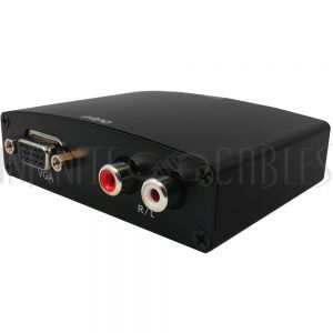 VC-103 Video Converter - HDMI to VGA + Audio - Infinite Cables