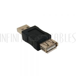 AD-USB-01 USB A Male to A Female Adapter - Infinite Cables