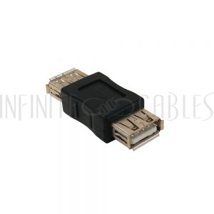AD-USB-02 USB A Female to A Female Adapter - Infinite Cables