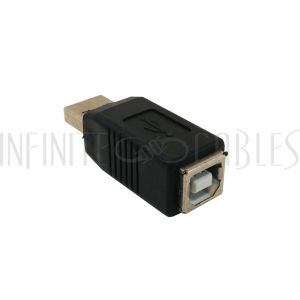 AD-USB-04 USB A Male to B Female Adapter - Infinite Cables