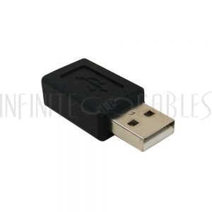 AD-USB-11 USB A Male to Mini 5-Pin Female Adapter