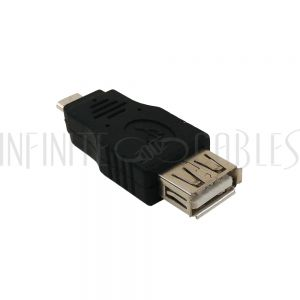 AD-USB-12 USB A Female to Micro B Male Adapter - Infinite Cables