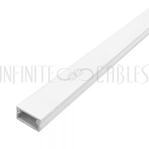 Raceway and Fittings (19mm x 11mm) - White - Infinite Cables