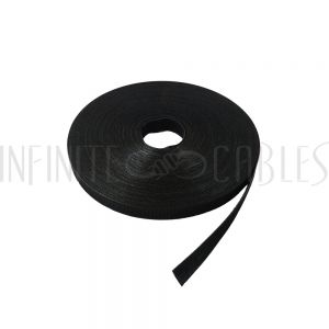 VL-RL50-75BK-C 75ft 1/2 inch Rip-Tie WrapStrap Plus - Black - Case of 48 rolls - Infinite Cables