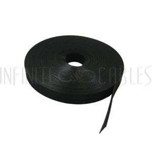 VL-RL75-75BK-C 75ft 3/4 inch Rip-Tie WrapStrap Plus - Black - Case of 32 rolls