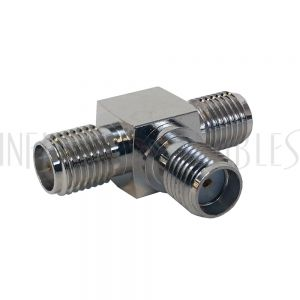 AD-11-FFF SMA Female to 2 x SMA Female - Tee Adapter