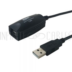 USB-E35 35ft USB AA Male/Female 2.0 Active Extension Cable - Infinite Cables