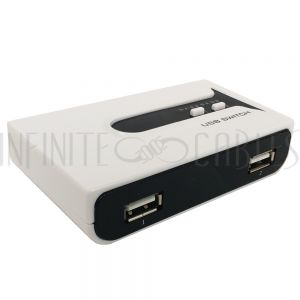 USB-M22 USB 2.0 Matrix Sharing Switch (2 Inputs, 2 Outputs) - Infinite Cables