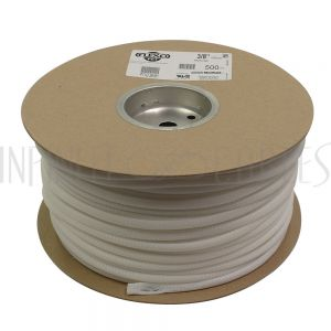 BS-PT038-500WH 500ft 3/8 inch Sleeving White - Infinite Cables