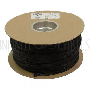 BS-PT063-500BK 500ft 5/8 inch Sleeving Black - Infinite Cables
