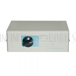 MB-DB25-41 4x1 ABCD DB25 Manual Switch Box - Infinite Cables