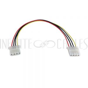 PW-IN525FF-12 12 inch LP4 Female to LP4 Female Internal Power Cable