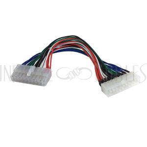 PW-INATX-9 9 inch ATX 20 pin Male to ATX 20 pin Female Internal PC Power Cable - Infinite Cables