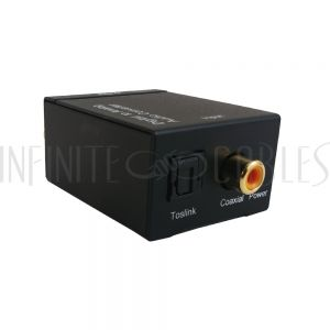 VC-202 Digital to Analog Audio Converter -  Digital Coax / Toslink To RCA L/R - Infinite Cables