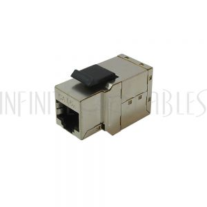 JK-C6A-FFS RJ45 Keystone Jack, Female to Female Cat6a Shielded
