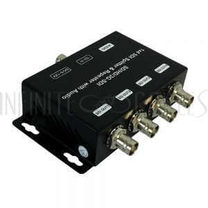 VP-SD1-04 1x4 3G SDI Splitter & Repeater with Audio Extraction