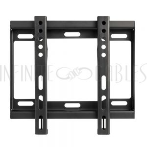 MT-332-BK  Fixed TV Wall Mount Bracket for Flat LCD/LEDs - Fits Sizes 23-42 inches - Maximum VESA 200x200 - Infinite Cables