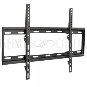 MT-333-BK Fixed TV Wall Mount Bracket for Flat LCD/LEDs - Fits Sizes 37-70 inches - Maximum VESA 600x400 - Infinite Cables