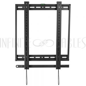 MT-386-BK Fixed Portrait TV Wall Mount Bracket for Flat LCD/LEDS - Fits Sizes 45-70 inches - Maximum VESA 600x400