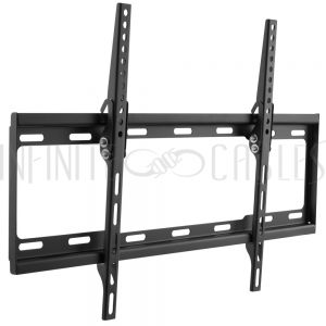 MT-433-BK Tilting TV Wall Mount Bracket for Flat LCD/LEDs - Fits Sizes 37-70 inches - Maximum VESA 600x400 - Infinite Cables