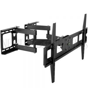 MT-731-BK Full Motion Corner TV Wall Mount Bracket for Flat LCD/LEDS - Fits Sizes 37-63 inches - Maximum VESA 800x400