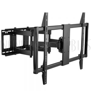 MT-743-BK Full Motion TV Wall Mount Bracket for Flat and Curved LCD/LEDs - Fits Sizes 70 to 100 inches - Maximum VESA 900x600