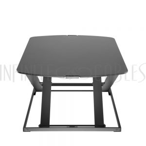 MT-2600-BK Sit-Stand Desk Workstation Base - Black