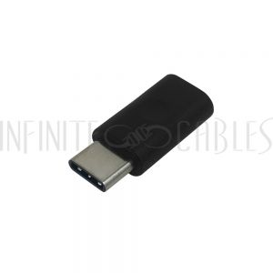 AD-USB-51 USB 2.0 Type-C Male to Micro B Female Adapter - 480Mbps 3A