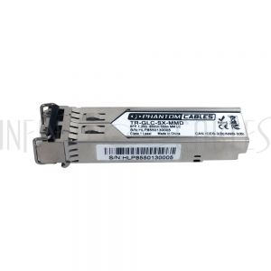 TR-GLC-SX-MMD Cisco<sup>®</sup> GLC-SX-MMD Compatible 1000BASE-SX SFP 850nm MM LC w/ DOM Transceiver - Infinite Cables