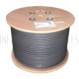 BK-C3254L-1000GY 1000ft 25 Pair Cat3 Solid UTP FT4/CMR/CL3 Bulk Cable - Grey