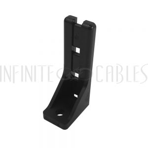 CC-300-BK Cable Holder Ladder, 60mm - Black (50 pack) - Infinite Cables