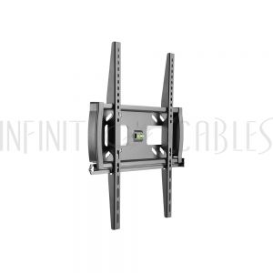 MT-346-BK Fixed TV Wall Mount Bracket for Flat and Curved LCD/LEDs - Fits Sizes 32-55 inches - Maximum VESA 400x400 - Infinite Cables