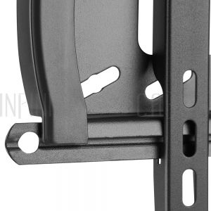 MT-347-BK Fixed TV Wall Mount Bracket for Flat and Curved LCD/LEDs -  Fits Sizes 37-70 inches - Maximum VESA 600x400 - Infinite Cables