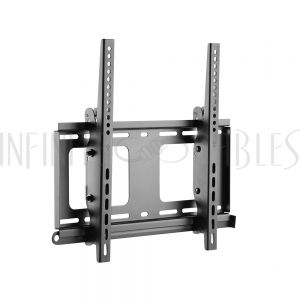 MT-443-BK Tilting TV Wall Mount Bracket for Flat and Curved LCD/LEDs - Fits Sizes 32-55 inches - Maximum VESA 400x400 - Infinite Cables