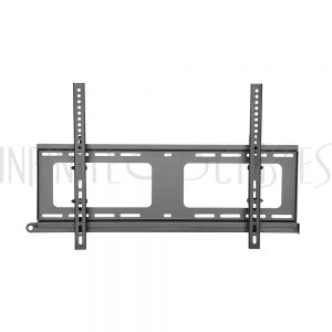 MT-444-BK Tilting TV Wall Mount Bracket for Flat and Curved LCD/LEDs - Fits Sizes 37-70 inches - Maximum VESA 600x400 - Infinite Cables