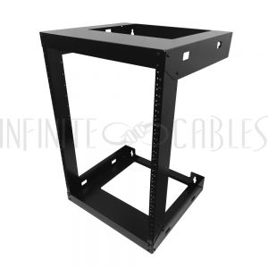 RM-230-15U 19 inch Open Frame Wall Mount Rack - 18 inch Depth - 15U - Infinite Cables
