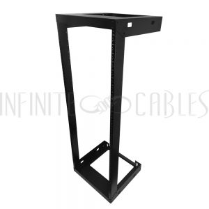 RM-230-30U 19 inch Open Frame Wall Mount Rack - 18 inch Depth - 30U - Infinite Cables