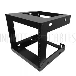 RM-230-8U 19 inch Open Frame Wall Mount Rack - 18 inch Depth - 8U - Infinite Cables