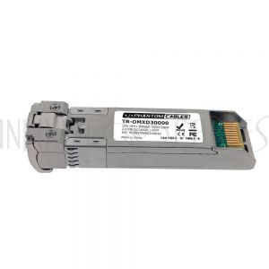 TR-OMXD30000 Huawei<sup>®</sup> OMXD30000 Compatible 10GBASE-SR SFP+ 850nm MM LC Transceiver 300m