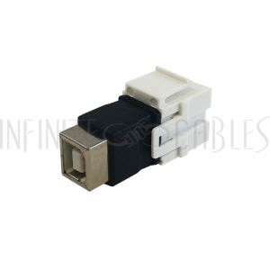 WP-IN-USB3 USB B/B Keystone Wall Plate Insert