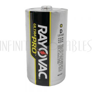 BT-ALK-D-6 Rayovac D Industrial Alkaline Batteries - AL-D (6 per pack) - Infinite Cables