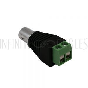 CN-31-S BNC Female Screw Down Connector, 75 Ohm - Infinite Cables