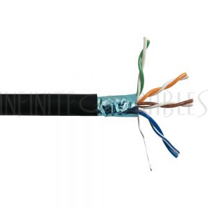 BK-C5ESL-6BKS 1000ft 4 Pair Cat5e 350MHz FTP FT6/CMP Bulk Cable - Infinite Cables
