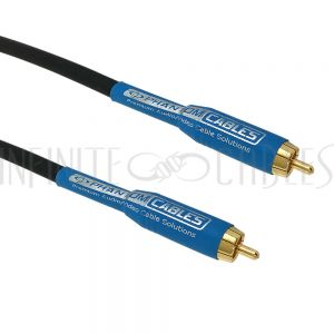 DIG-RCA1-01.5 Premium Phantom Cables Digital Coax RCA Male To Male Cable 18AWG FT4 - Infinite Cables