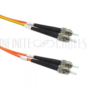 FO-MC100-03-ST Mode Conditioning Cable 62.5 Micron - 3mm Jacket LSZH ST/ST - Infinite Cables