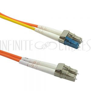 FO-MC108-03-LC Mode Conditioning Cable 62.5 Micron - 3mm Jacket LSZH LC/LC - Infinite Cables