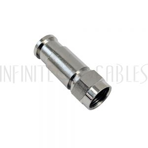 CN-CFM-59-10PL F-Type Male Compression Connector for RG59 Plenum Cable (10 pack) - Infinite Cables