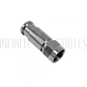 CN-CFM-6-10PL F-Type Male Compression Connector for RG6 Plenum Cable (10 pack)