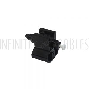 FO-FAST-LC-MM50-6 FASTCONNECT LC MM OM2 Black Connector - 6 Pack