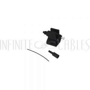 FO-FAST-LC-MM50-6 FASTCONNECT LC MM OM2 Black Connector - 6 Pack - Infinite Cables